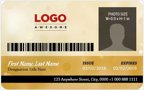 Crc Card Template Excel by 5 Best Corporate Professional Id Card Templates