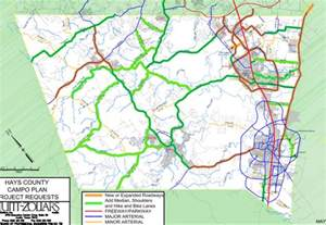 the list roads trails hays county wants in co master