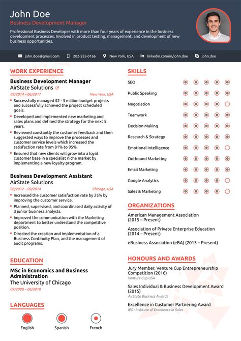 template for resume free 2018 professional resume templates as they should be 8