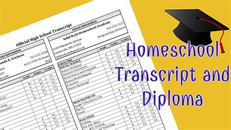 Rutgers Mba Application Transcript Address by Transcript Template For High School Homeschool Students