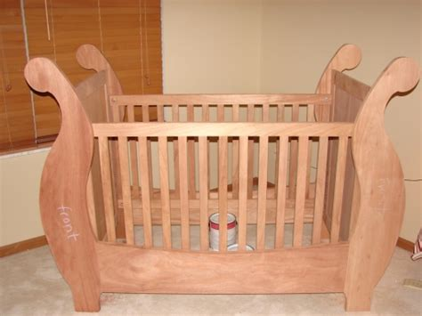 Baby Crib Plans For Woodworkers Give Your Newborn A Gift Blueprints For Baby Crib