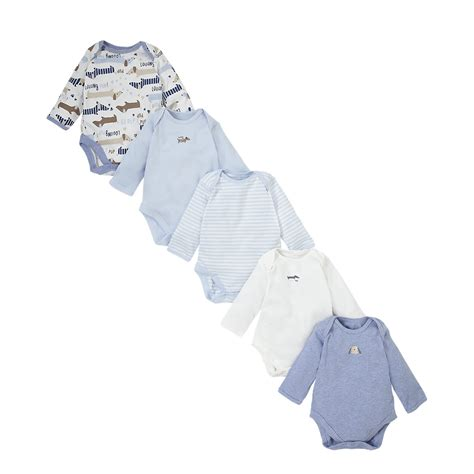 Mothercare Set For Baby Boy 5 mothercare baby newborn boy s pup bodysuits onesie