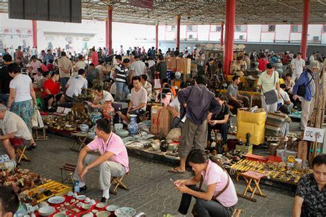 Barang Antik Cina berburu barang antik di pasar panjiayuan wisata cina