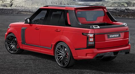 range rover truck startech introduces range rover based up truck