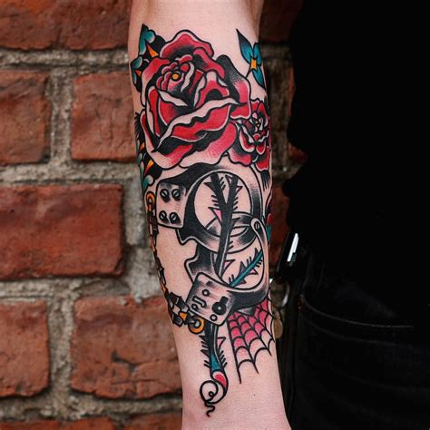 new school rose tattoo collection of 25 new school photo