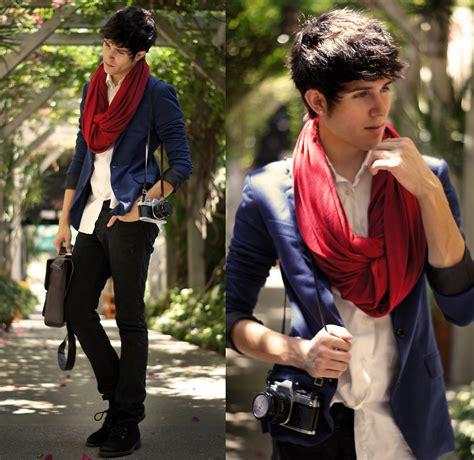 brisha polos ori billy scarf adam gallagher american apparel circle scarf l oreal