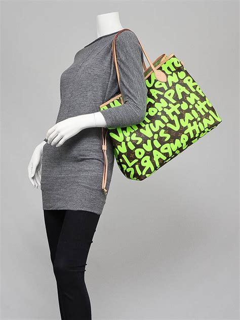 louis vuitton limited edition vert stephen sprouse
