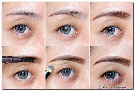 tutorial alis dengan eyeshadow tutorial tata cara make up natural terbaik caramakeup net