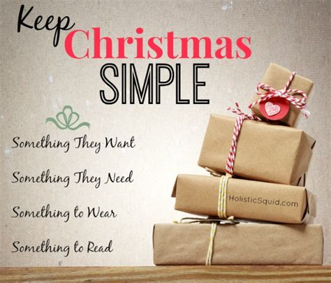 3 simple steps to a minimalist christmas holistic squid