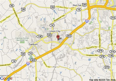 union city georgia map map of country hearth inn union city ga union city