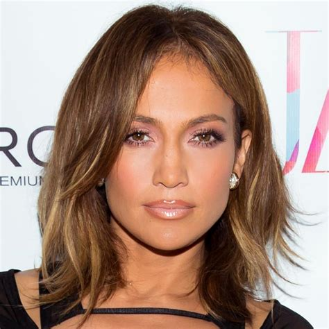 box layer haircut jennifer lopez with bronde hair coiffures pinterest