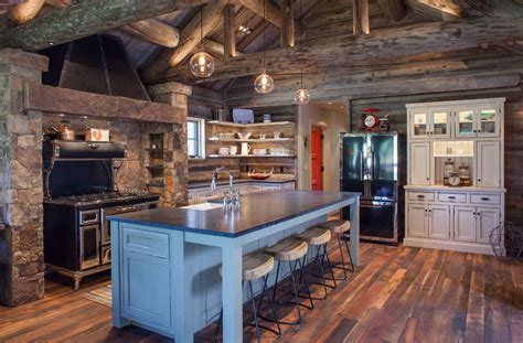 rustic farmhouse kitchen ideas 20 rustic kitchen designs ideas design trends