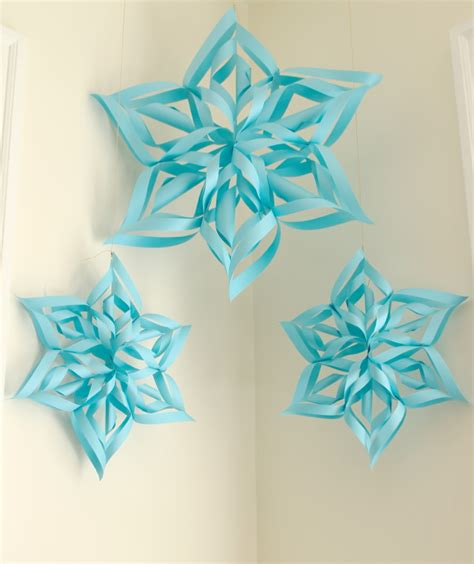 diy decorations paper snowflakes 15 diy paper snowflakes for winter and decor