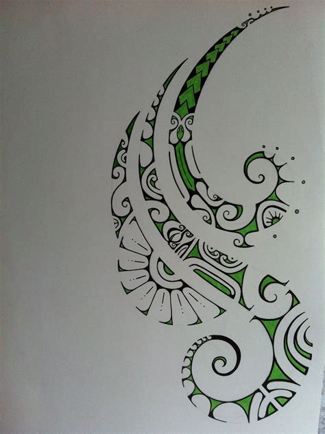 how to design a polynesian tattoo pretty polynesian drawing