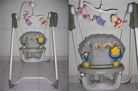 winnie the pooh infant swing little precious store graco easy entry infant swing