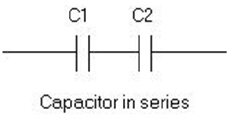 capacitor on series series and parallel capacitors formula calculator for capacitance