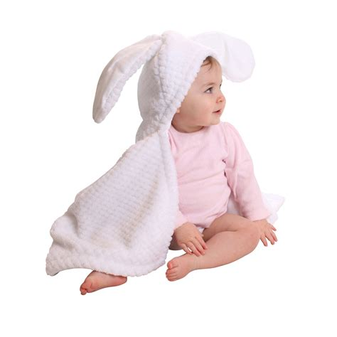 White Bunny Ear Blouse bunny ears baby blanket in white clair de lune cuckooland