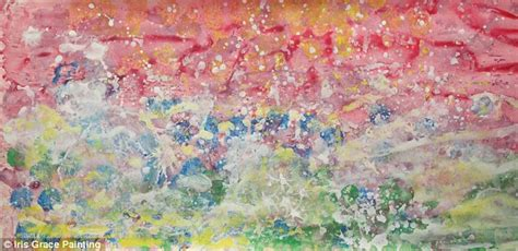 free painting for 3 year olds autistic three year s stunning paintings sell for