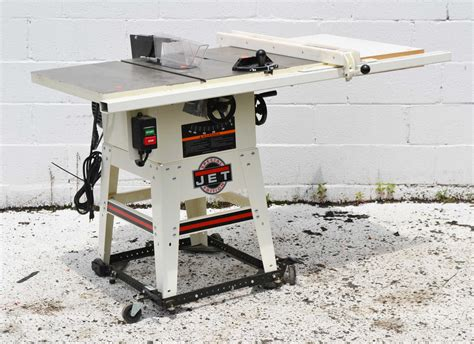 jet contractor table saw jet table saw jwts 10cw2 lfr 2201 40 ebay