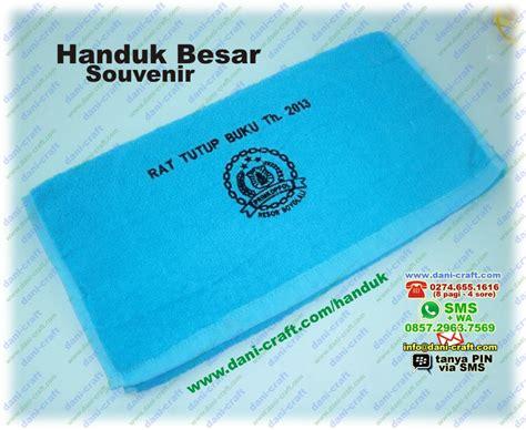 Handuk Bayi Ivory Murah Lembut Ukuran Sedang souvenir handuk besar bordir nama harga murah souvenir pernikahan
