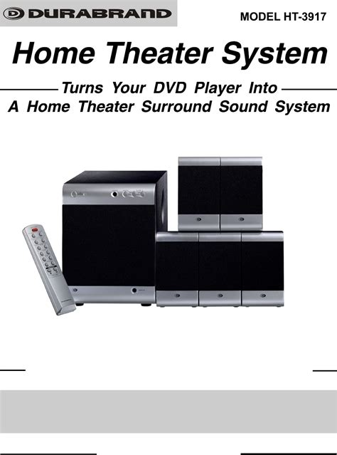 lenoxx electronics home theater system ht3917 user guide