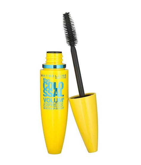 Maybelline Mascara Hypercurl Volume Express maybelline hyper curl the colossal volume express waterproof black mascara 10 ml buy