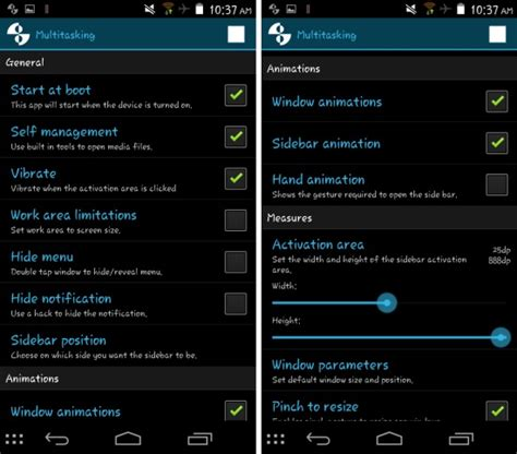 app settings android get resizable floating apps on android multitasking app for android