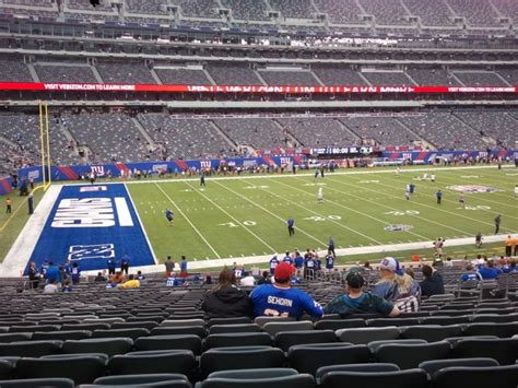 metlife in oklahoma city oklahoma with reviews ratings just ok metlife stadium section 117 review