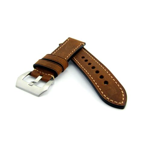 leather straps brown leather steel buckle straps house