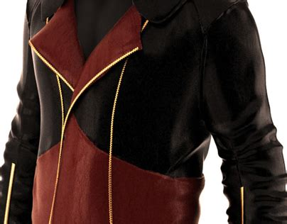 volante design kenway jacket volante s kenway jacket in leather on behance