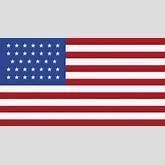 34 Star United States Flag, 1861