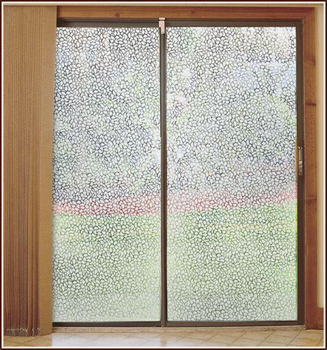 film window pebble etched glass semi private decorative window film