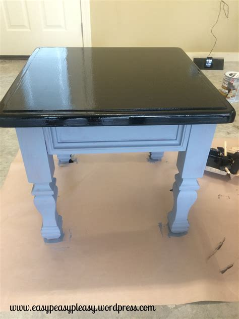 how to paint a desk diy table to ottoman and how to paint furniture without