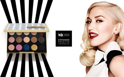 eyeshadow tutorial gwen stefani palette monroe misfit makeup beauty blog urban decay gwen
