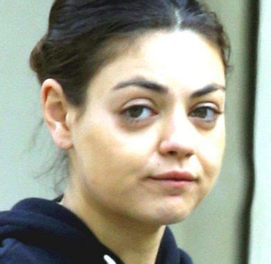 Mila Kunis Born With No by Mila Kunis Without Makeup Pictures Without Makeup