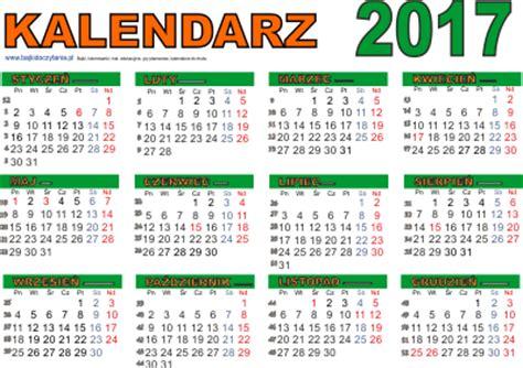 Kalendár Na Rok 2018 Kalendarz Na 2017 Rok Do Druku Pdf Edukacyjne Bajki Do