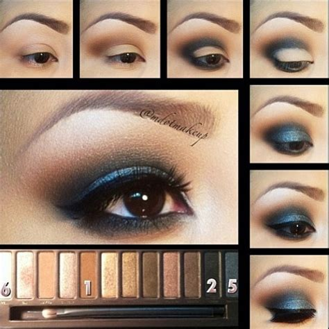 natural eye makeup tutorial for brown eyes ways to apply eyeshadow you didn t think of