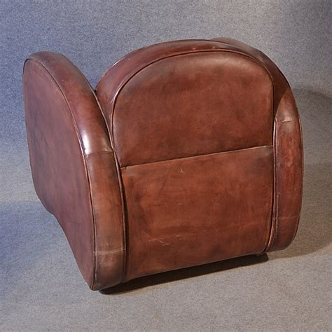 Deco Leather Armchair by Antiques Atlas Deco Leather Armchair Vintage Club