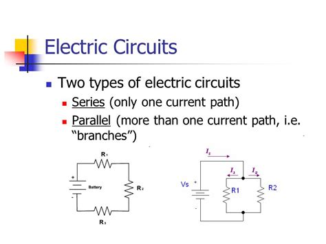 different types of resistors in a circuit electric circuits ppt