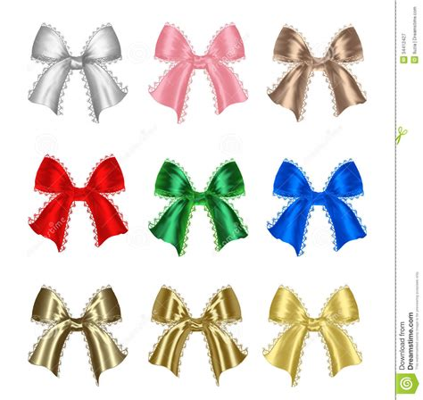 colorful bows colorful gift bows royalty free stock photography image