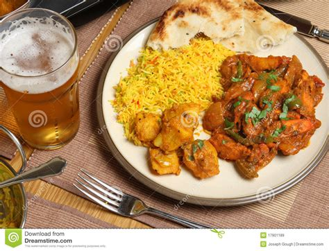 indian curry dinner indian curry meal royalty free stock images image 17901189