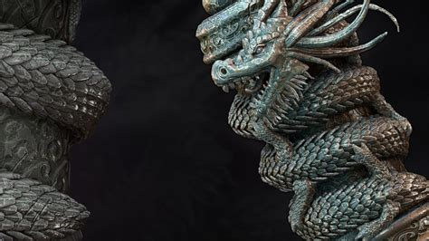 tutorial render zbrush zbrush tutorials gt sculpting a dragon scroll asset in