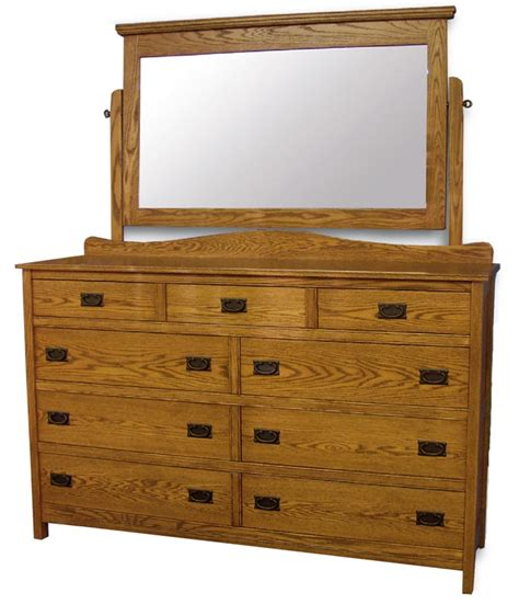 Country Mission Mule Dresser Mirror - country mission dresser mirror in solid hardwood
