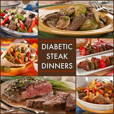 dinner recipes for 8 8 great recipes for a diabetic steak dinner