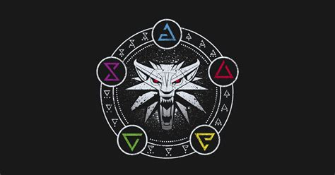 Hoodie The Witcher 3 New Logo signs the witcher 3 t shirt teepublic