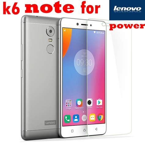 Lenovo K6 Note Tempered Glass Color Black Cover 1 k6 note power premium tempered glass for lenovo k6