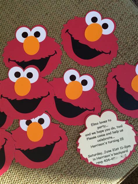 Elmo Baby Shower by Elmo Birthday Or Baby Shower Invitations Set Of 10