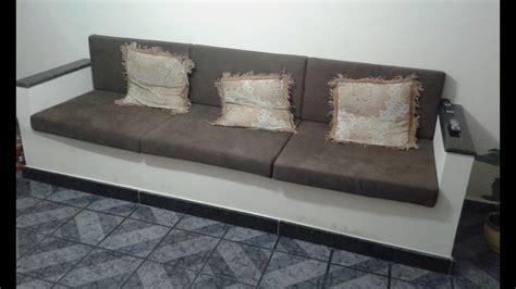 capa para sofa de canto 6 almofadas soltas sof 225 alvenaria c medidas fa 231 a voc 234 mesmo youtube