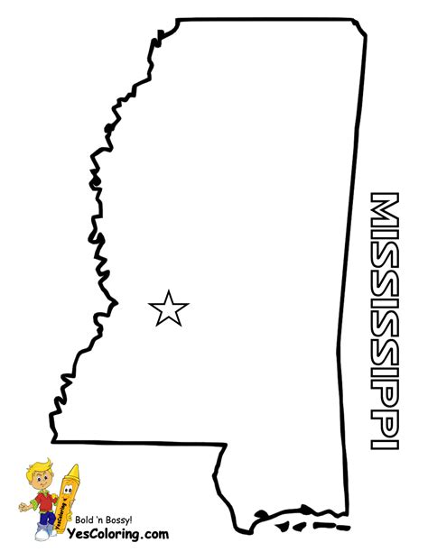 printable map mississippi free state maps massachusetts south dakota map