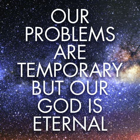 Is Eternal our god is eternal sermonquotes